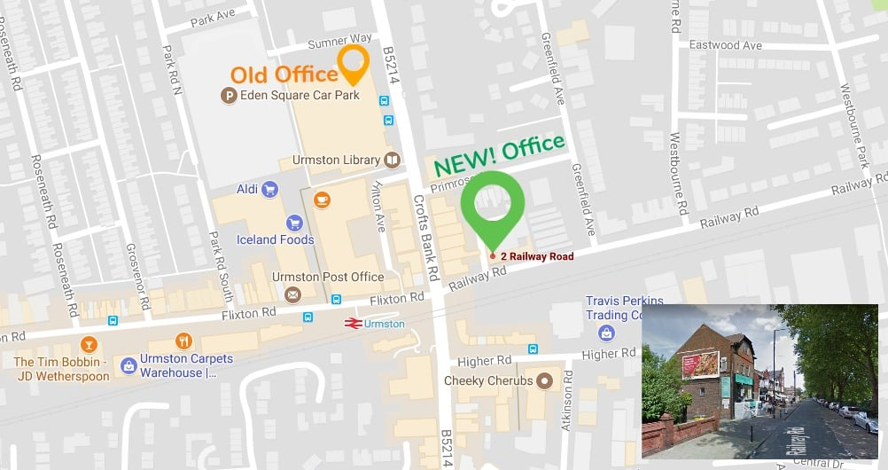 New offices in Urmston