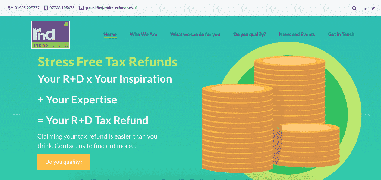 rnd tax refunds