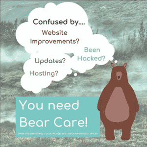Bear care for websites