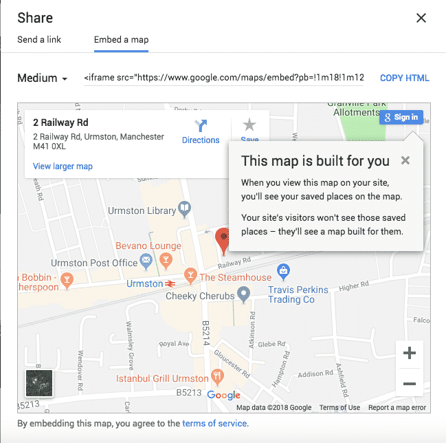 Google Map work-around for 27collective MyListing theme 2