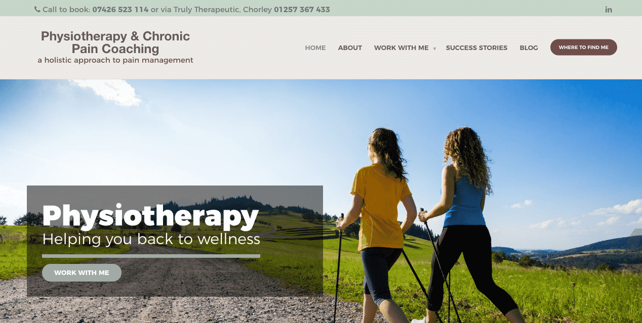 Physiotherapy and Chronic Pain Coaching