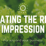 Creating the right impression