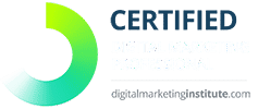 Digital Marketing Institute certified professional